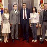 Радна посета ИО ССС Председништву Републике Србије