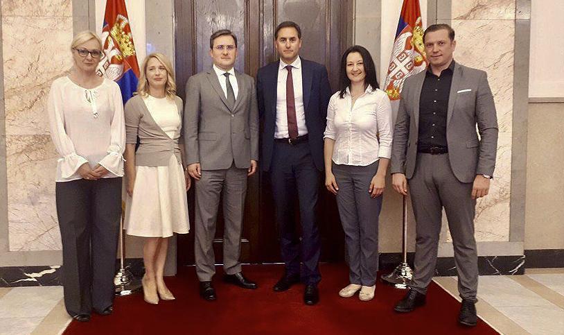 Poslovni obisk IO ZSS predsedništvu Republike Srbije