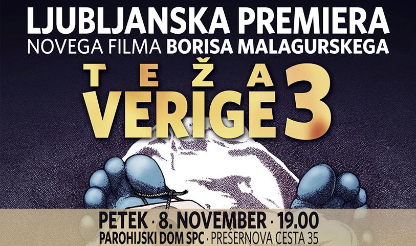 ТЕЖИНА ЛАНAЦА 3 – Љубљанска премијера новог филма српско-канадског режисера Бориса Малагурског