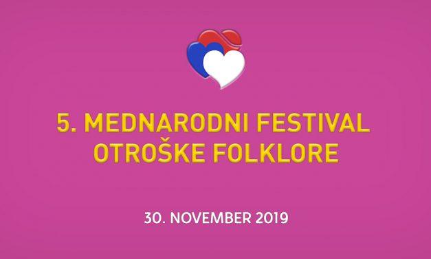 5. Mednarodni festival otroške folklore