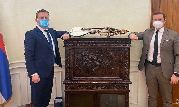 ПОСЕТА МИНИСТАРСТВУ СПОЉНИХ ПОСЛОВА РЕПУБЛИКЕ СРБИЈЕ