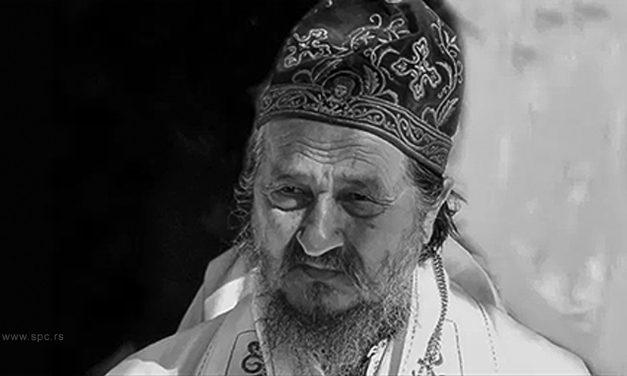 ПРЕМИНУО УМИРОВЉЕНИ ЕПИСКОП АТАНАСИЈЕ ЈЕВТИЋ